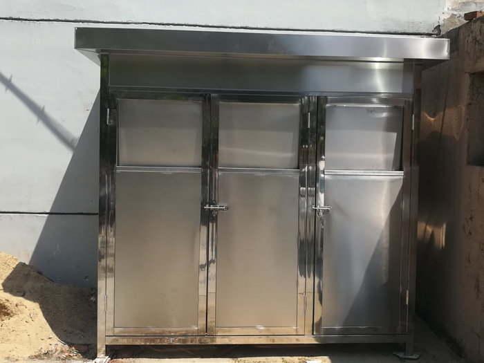 不锈钢垃圾房