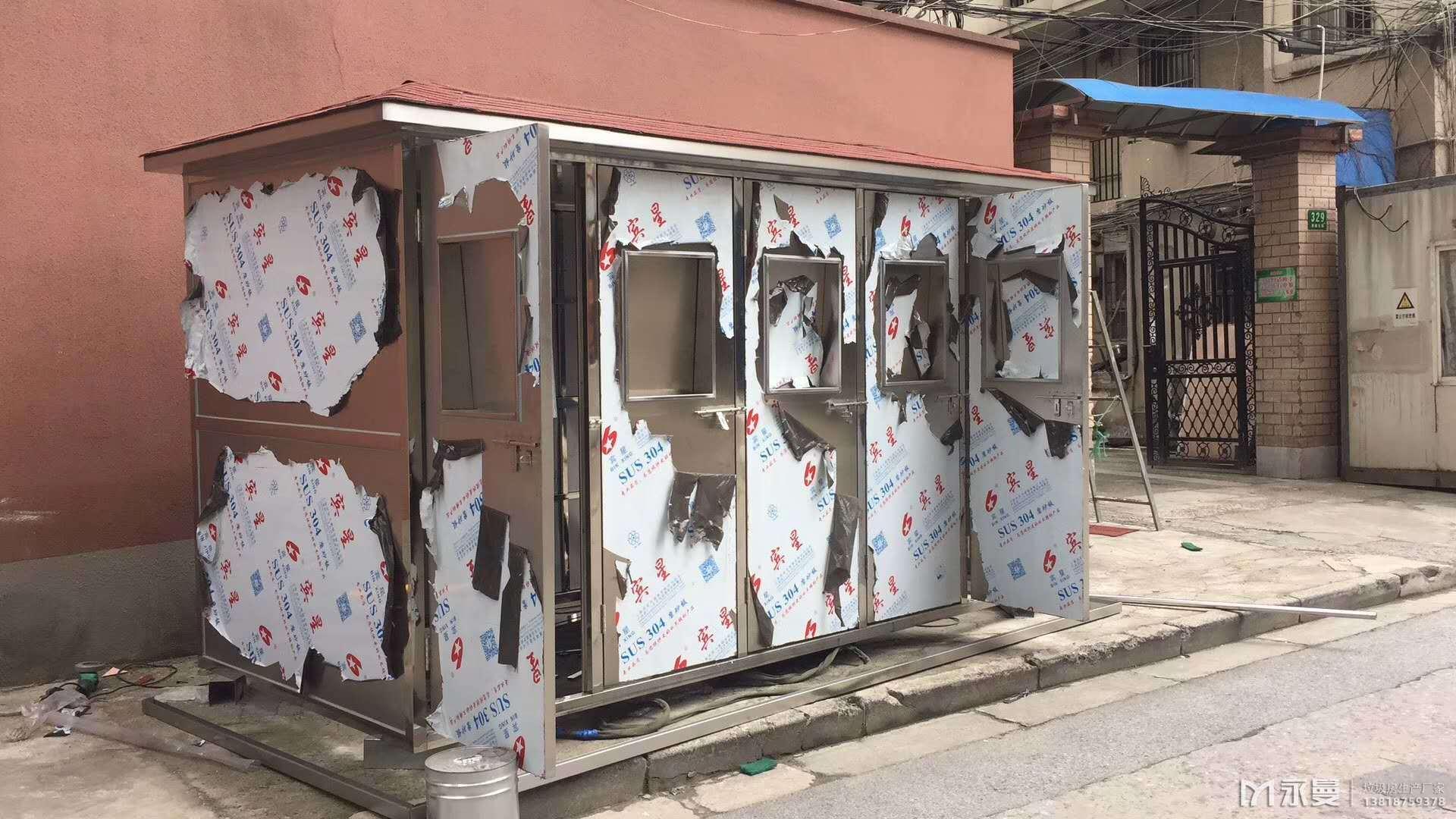 不锈钢垃圾房与镀锌管垃圾房优劣对比
